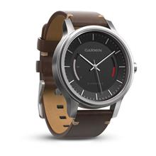 Garmin Vivomove Premium With Leather Band Watch